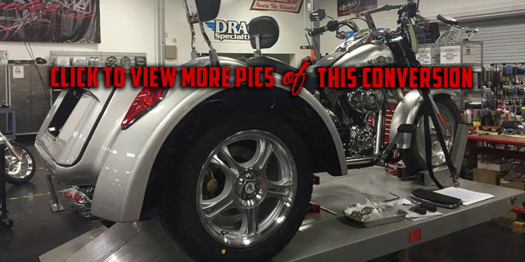 Roadsmith Trike Conversion Kits For Sale for All Makes and Models of